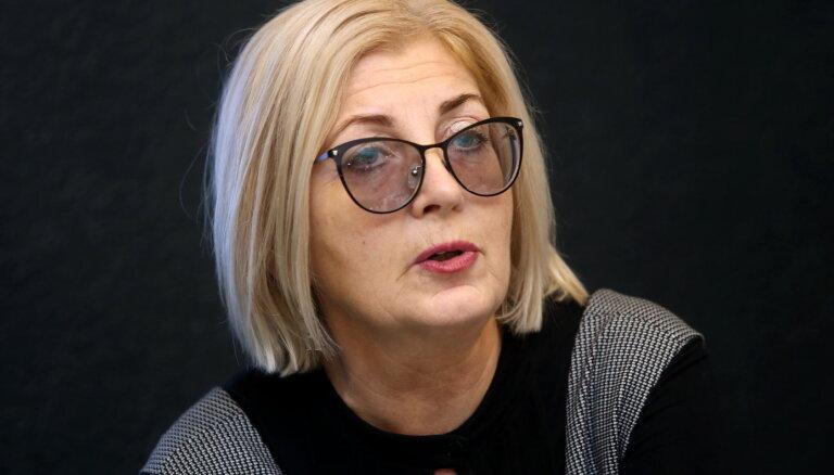 Скайдрите Абрама покинет должность руководителя Совета по конкуренции
