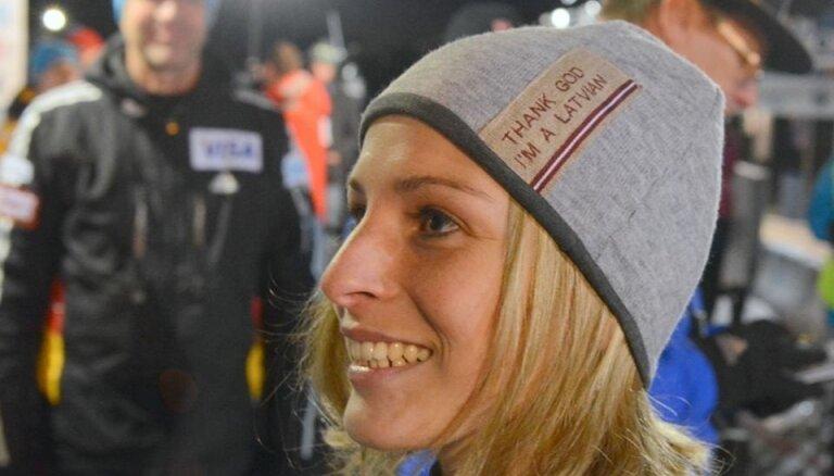 Скелетонистка из Латвии— чемпионка мира среди юниоров (ВИДЕО)