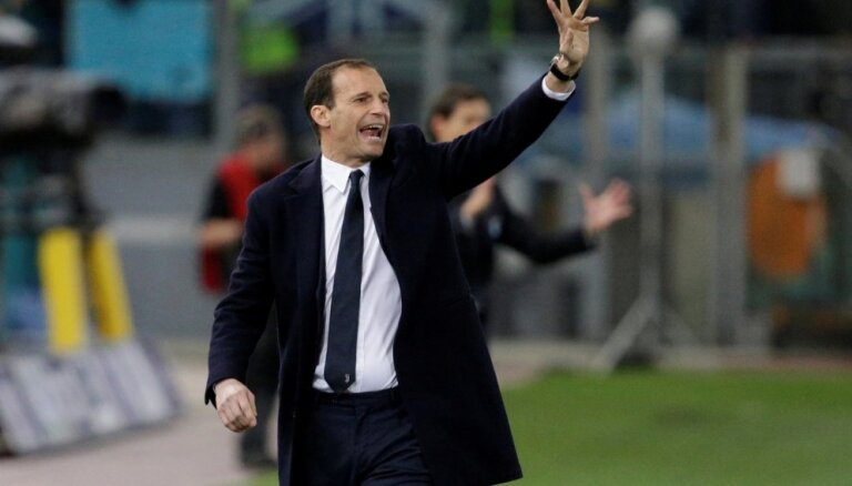 Mediji: 'Juventus' treneris Allegri atteicis Madrides 'Real'
