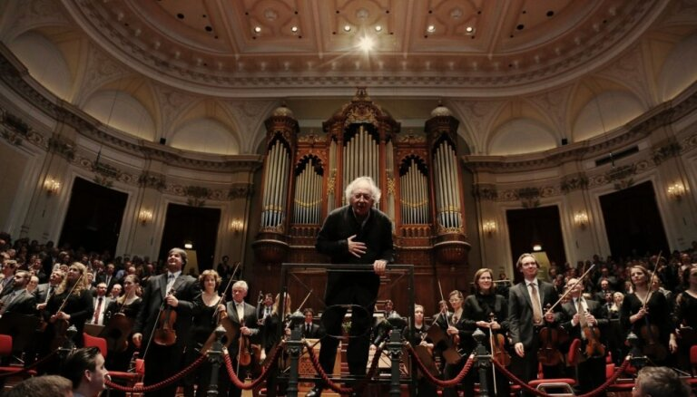 Amsterdamas Karaliskais 'Concertgebouw' orķestris atklās koncertu kopā ar studentu orķestri