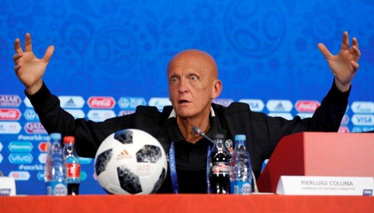 Leģendārais Kolina pametis UEFA tiesnešu komitejas vadītāja amatu