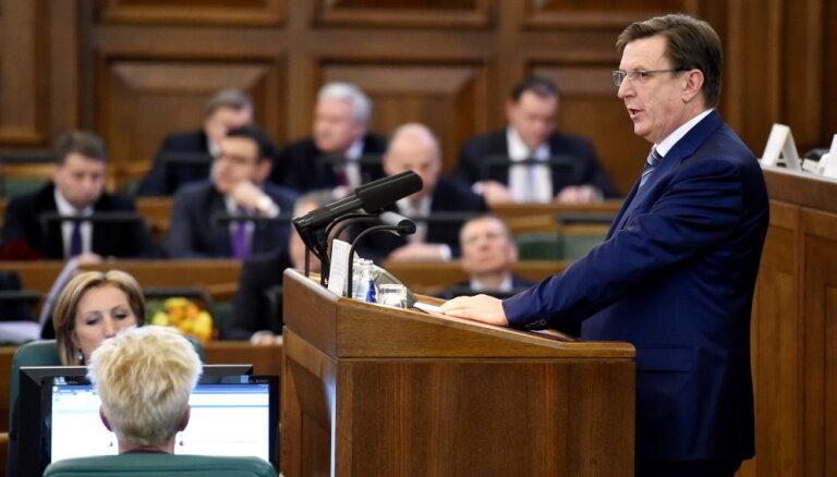 Kučinskis ar Igaunijas prezidentu pārspriedis ideju par ES digitālo robežu nojaukšanu