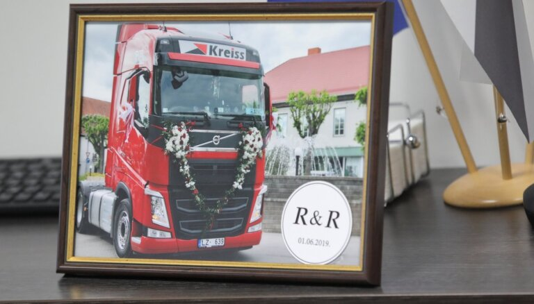 Latvijas kravu pārvadāšanas milzim 'Kreiss' liegta darbība Norvēģijā
