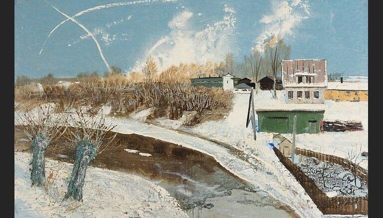 Atklās Henrija Klēbaha gleznu izstādi sadarbībā ar Artūru Arni un Lieni Mackus