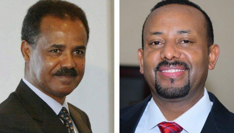 Etiopija un Eritreja parakstījušas deklarāciju par kara izbeigšanu