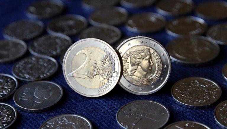 Latu monētas un banknotes līdz šim vēl nav apmainītas 123,1 miljona eiro vērtībā
