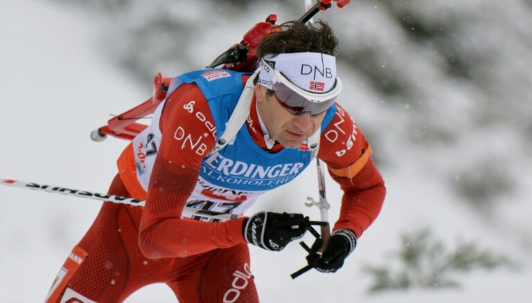 Легендарный Бьорндален выиграл 95-ю гонку в 41 год — новый исторический рекорд