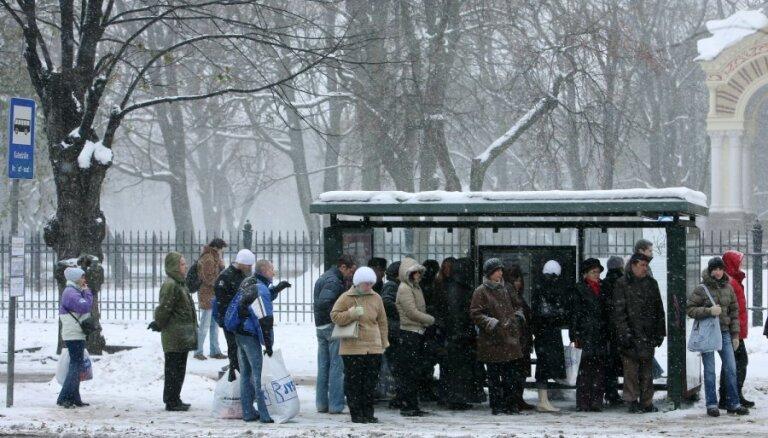 31 декабря и 1 января проезд в общественном транспорте Риги будет бесплатным