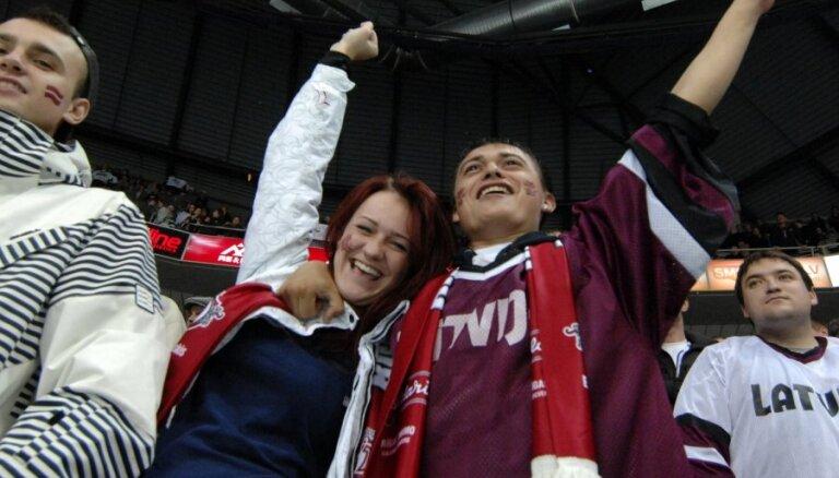 На матчах ЧМ по хоккею в Риге, возможно, смогут присутствовать до 2660 зрителей