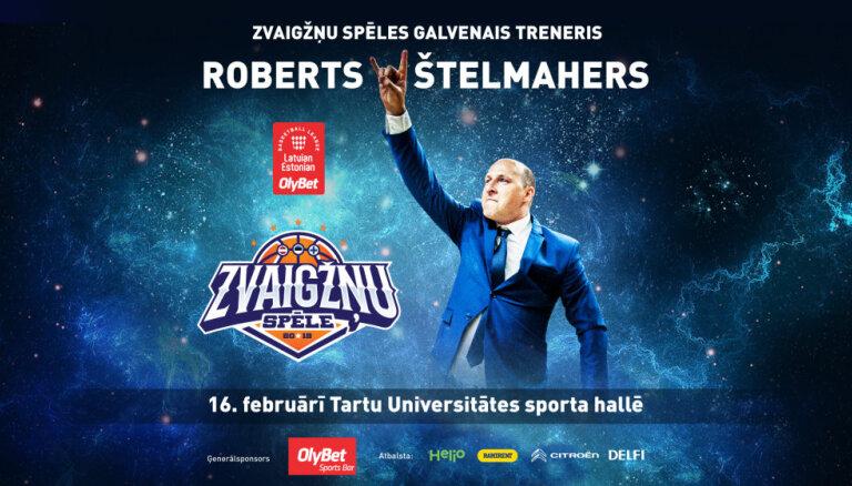 Štelmahers vadīs 'OlyBet' Latvijas – Igaunijas līgas Zvaigžņu komandu