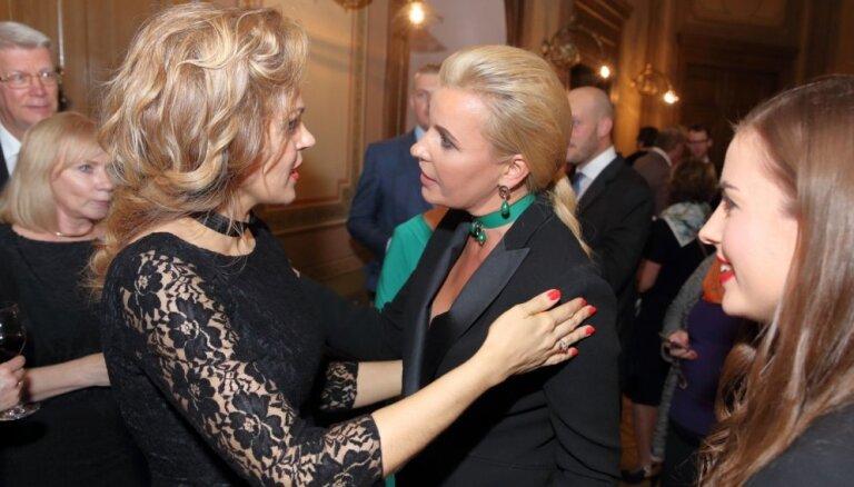 ФОТО: на концерт оперной певицы Ополайс собрался столичный бомонд