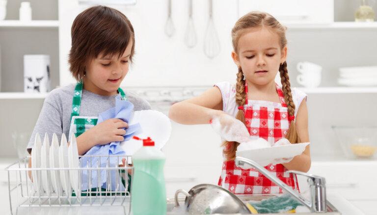 Likumi, kas jāievēro, mazgājot traukus