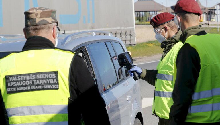 Lietuvas robežsardzes vadītājs: Minskā uz nelegālu iekļūšanu ES gaida 1500 migranti