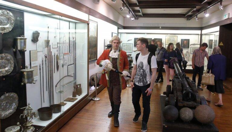 Apmeklētājiem atvērts arī Rīgas vēstures un kuģniecības muzejs