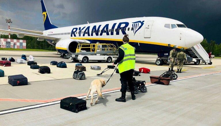 Швейцария не предупреждала Беларусь о бомбе в самолете Ryanair