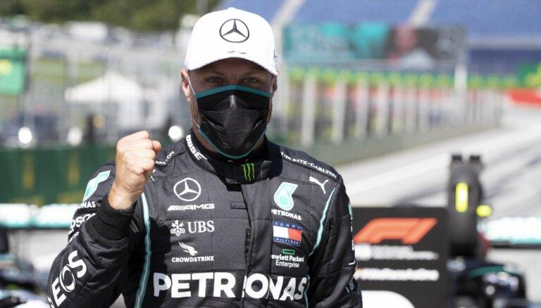 F-1 sezonas pirmo 'pole position' nopelna Botass