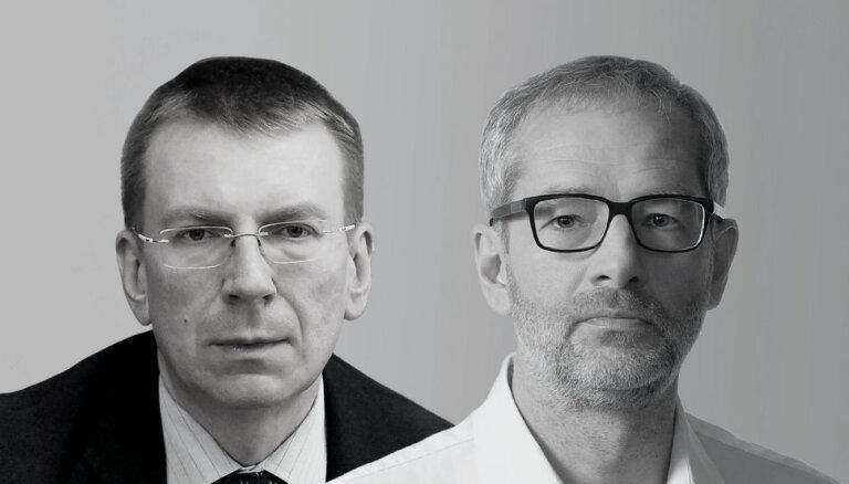 Delfi TV с Янисом Домбурсом: интервью с Эдгаром Ринкевичем