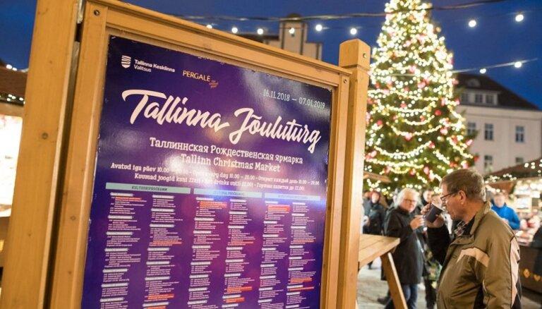 ФОТО: К Рождеству готовы! Как выглядят главные елки в разных городах Эстонии