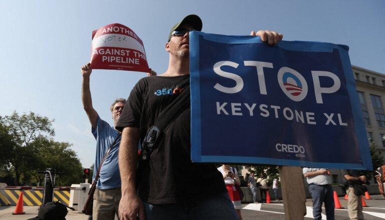 Kanādas kompānija 'TC Energy' atteikusies no naftasvada 'Keystone XL' projekta