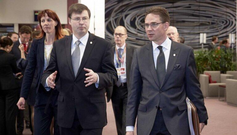 Домбровскис— единый кандидат Балтии в президенты ЕК