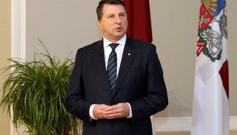 Вейонис поблагодарил Словению за то, что та прислала в Латвию своих солдат