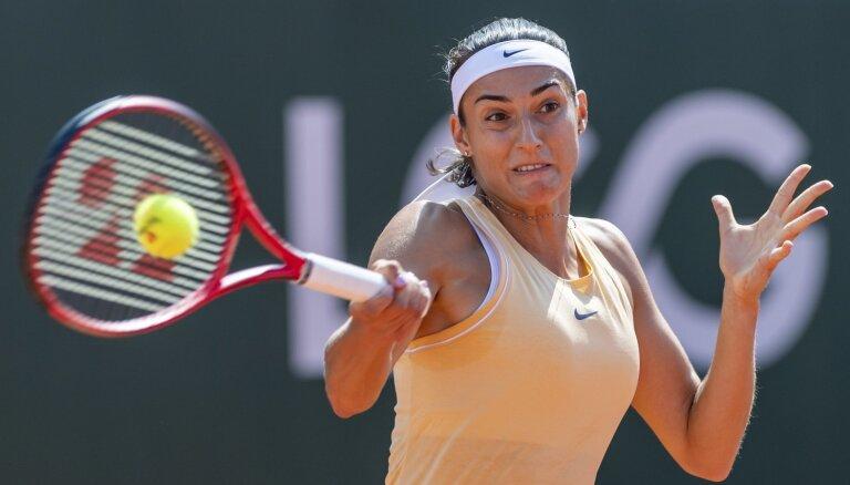 No 'Baltic Open' izstājusies Garsija; Jūrmalā palikušas vairs divas izsētas tenisistes