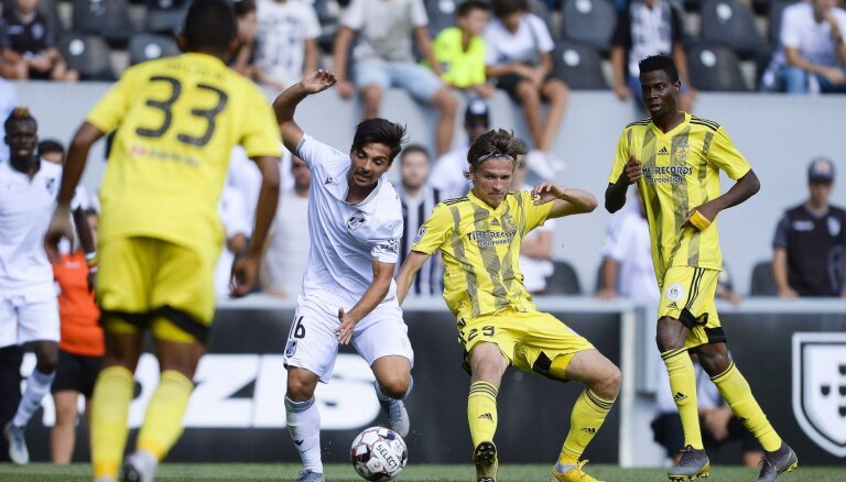 FK 'Ventspils' ielaiž sešus vārtus un ar 'sauso' zaudējumu izstājas no UEFA Eiropas līgas