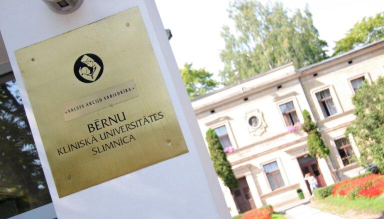 Bērnu slimnīca pagājušo gadu noslēgusi ar 194 846 eiro zaudējumiem