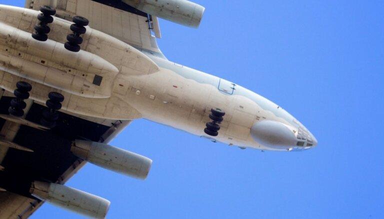 Pie Latvijas jūras robežas atkal manīta Krievijas bruņoto spēku lidmašīna
