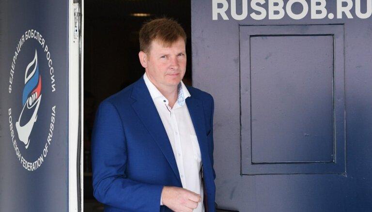 Zubkovs atkāpies no Krievijas Bobsleja federācijas prezidenta amata