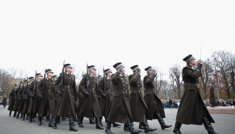 Jau otrdienas vakarā Lāčplēša dienas pasākumu dēļ Rīgā ierobežos satiksmi