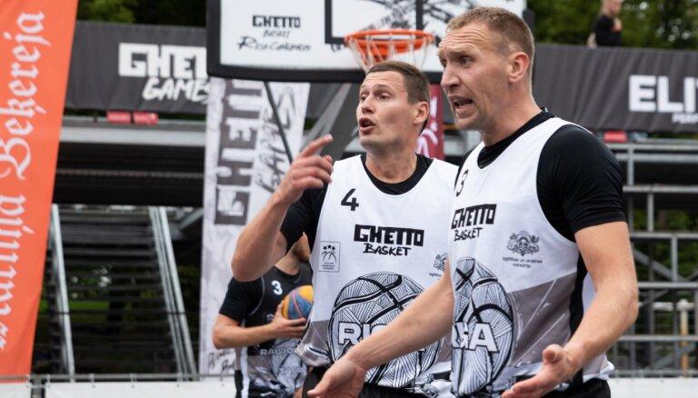 'Ghetto Basket Riga' 3x3 basketbola turnīra mači trešdien norisināsies 'Daugavas' sporta namā