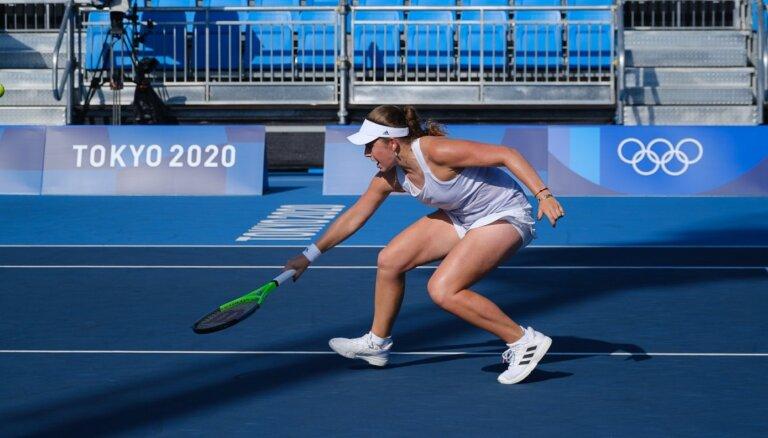 Tokijas olimpiskās spēles: Ostapenko/Sevastova – Peresa/Stosura. Teksta tiešraide