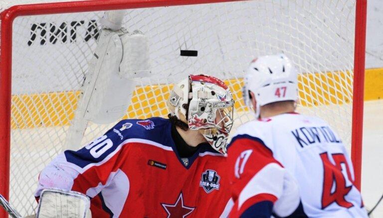 ВИДЕО: Голкипер СКА пропустил с центра поля, защитник ЦСКА забил в свои ворота