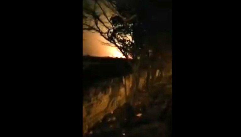 Video: Irānas televīzija demonstrē Ukrainas lidmašīnas nogāšanos
