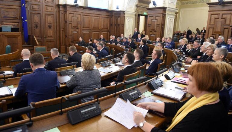 Parlaments konceptuāli atbalsta solidaritātes nodokļa likmi 25,5% apmērā