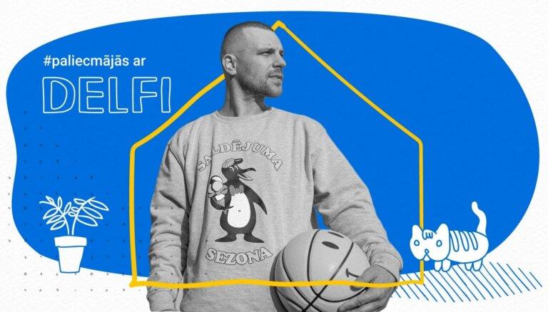 Reperis Ozols par hiphopu un dzīvi raidījumā '#PaliecMājās ar Delfi'. Ieraksts