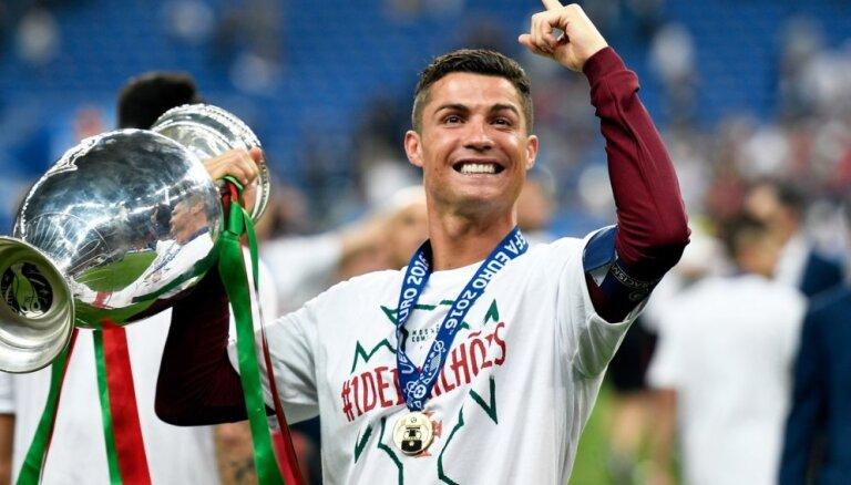 Криштиану Роналду признан спортсменом года в Европе