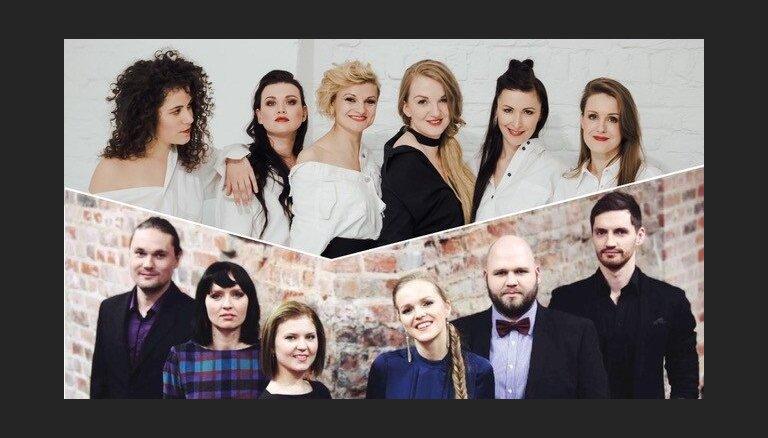 Latviešu un igauņu balsis apvienosies koncertā Latvijas Nacionālajā bibliotēkā