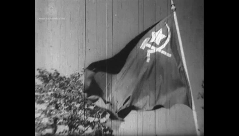 Arhīva video: 1940. gada jūnijs, kinožurnāls