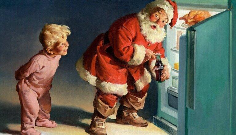 'Coca-Cola' Ziemassvētku vecītim 100 gadu!