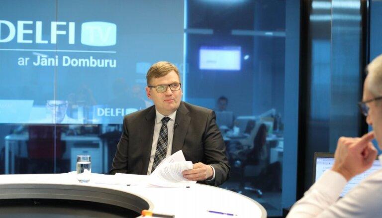 'Delfi TV ar Jāni Domburu' atbild Juris Pūce
