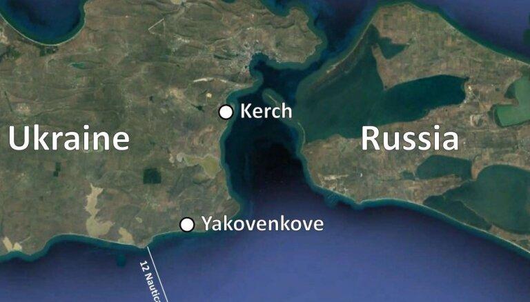 Karte: Kur Krievijas specvienības uzbruka ukraiņiem