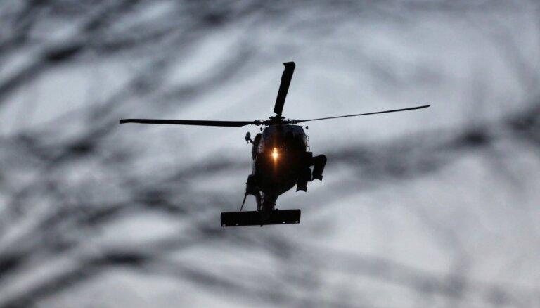 Вооруженные силы призывают жителей не ослеплять лазером пилотов вертолетов