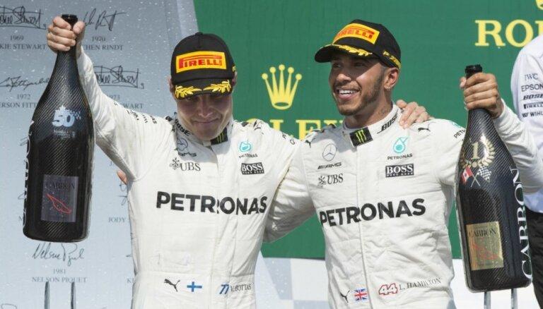 Hamiltons: manas attiecības ar Botasu ļoti atšķiras no tām, kādas bija ar Rosbergu