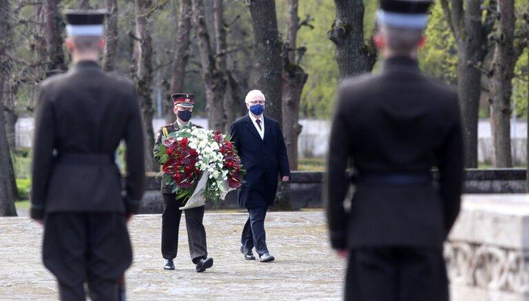 Valsts prezidents: Otrais pasaules karš Latvijai bija svešs karš, taču tajā cietām daudz