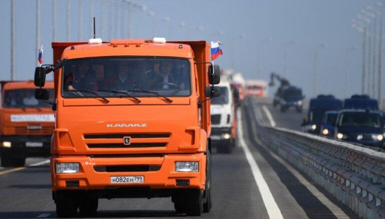 Rīgas dome turpinās sadarbību ar Krimas tilta projektētājiem