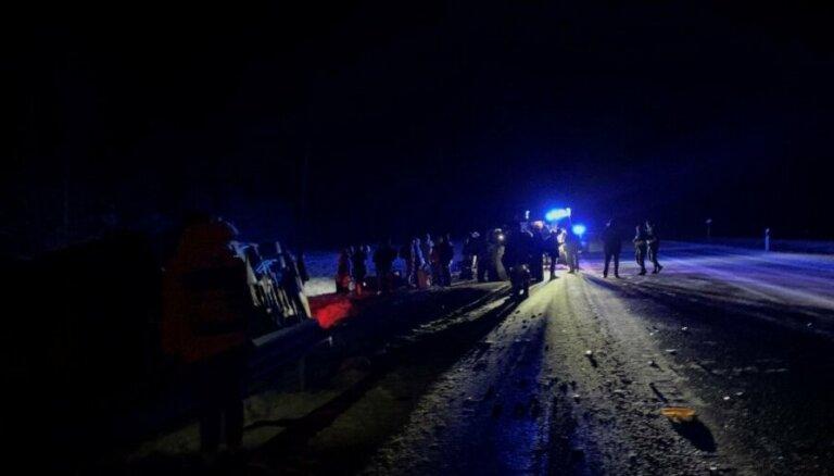 Авария автобуса Ecolines с пострадавшими из Латвии: причины пока не выяснены