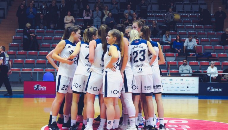 'Liepāja'/LSSS basketbolistes izcīna LSBL bronzu