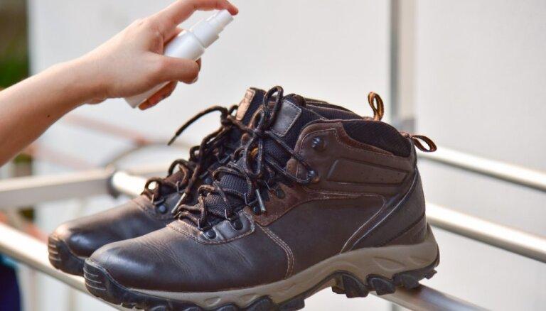10 efektīvi ieteikumi, lai atbrīvotos no nepatīkamā apavu aromāta